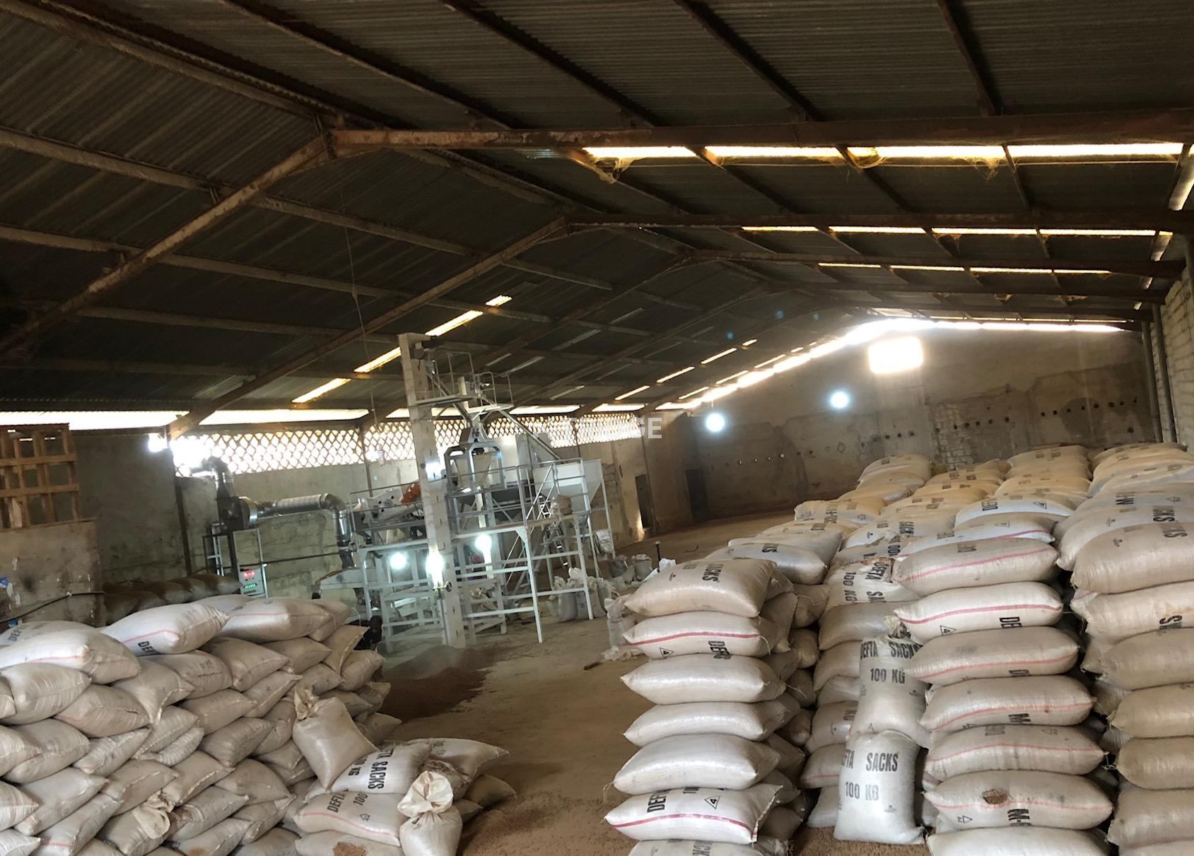 Seed Cleaning Factory, Lagos Axis, Nigeria.