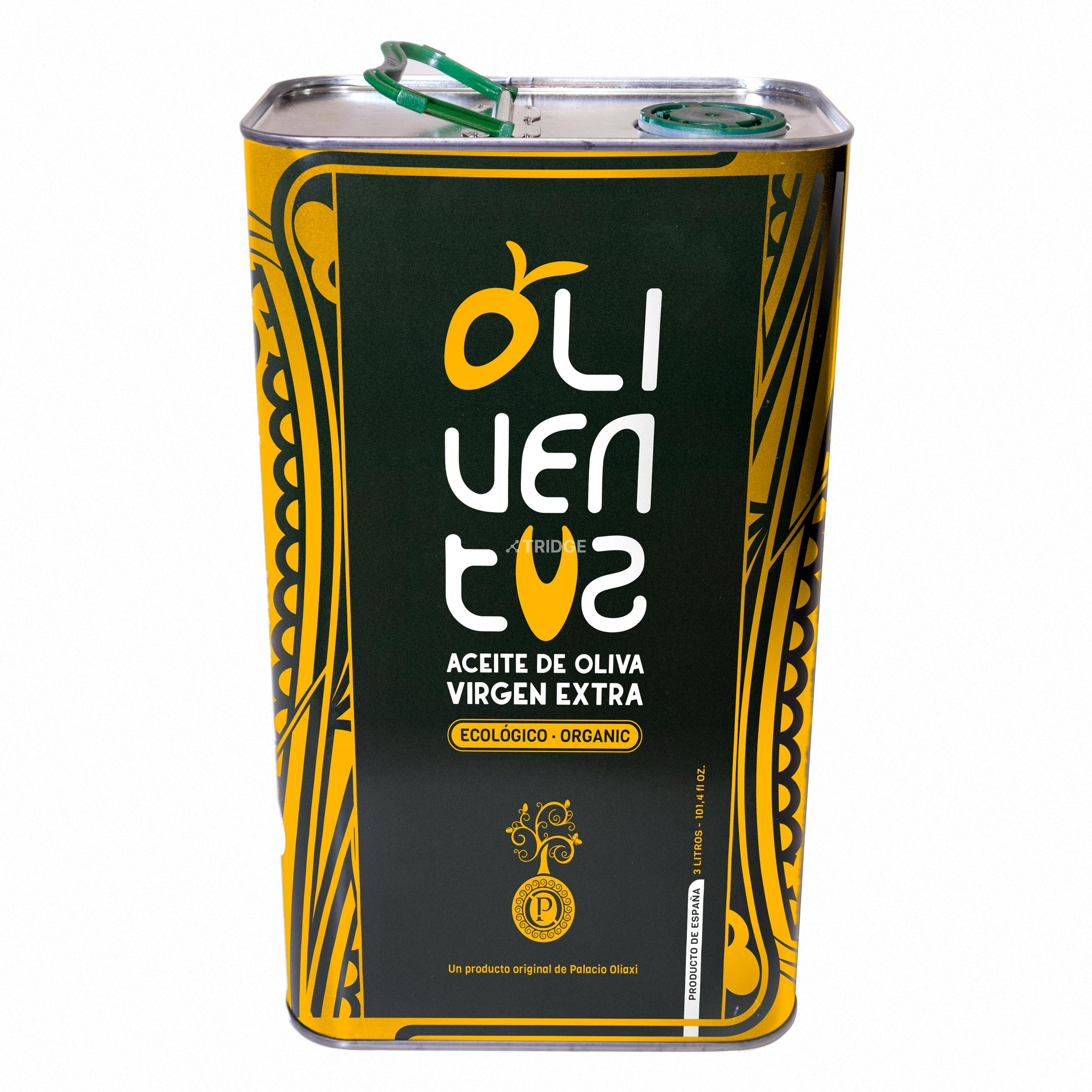 Oliventus 3 liters tin can