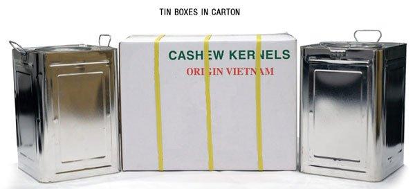 Vietnam Cashew Nut Kernel - Tin_box_in_carton.jpg
